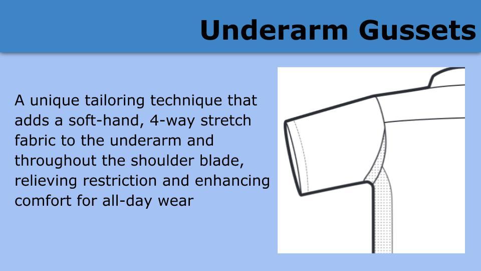 Underarm Gussets