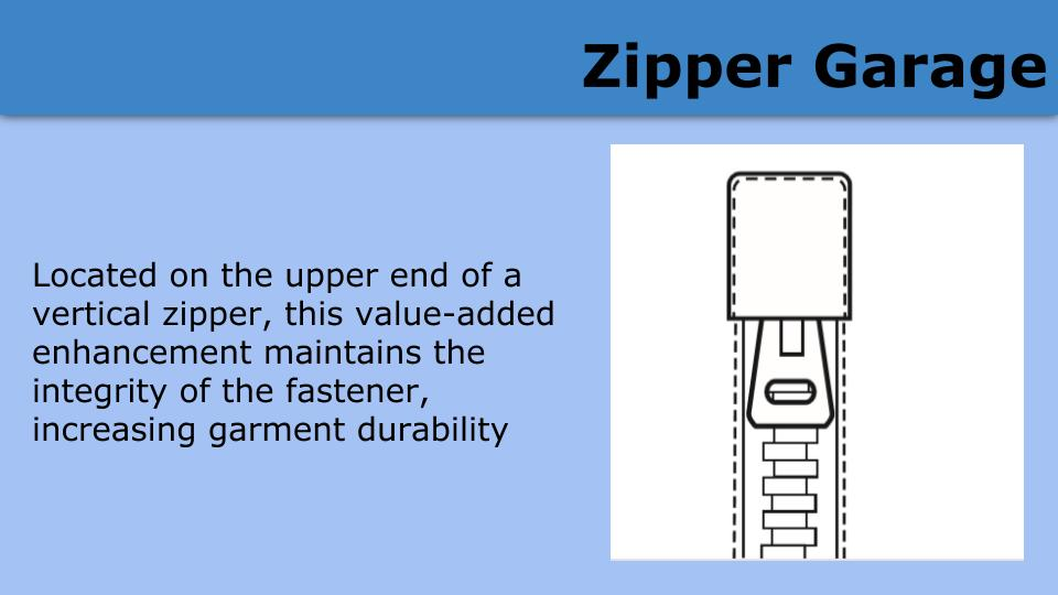 zipper garage