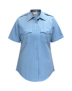 DELUXE TROPICAL 65% POLY/35% RAYON WOMEN'S SS SHIRT