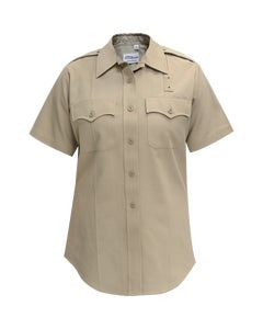 DELUXE TROPICAL POLY/RAYON WOMENS SS SHIRT | 153R66