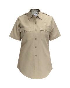 CHP women's polyrayon short sleeve uniform shirt by Flying Cross