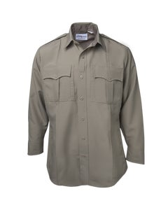 Men's LS Shirt W/Zipper
