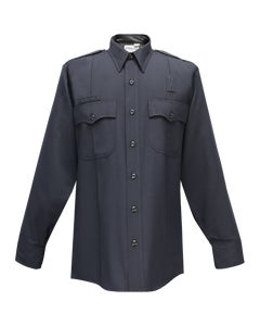 JUSTICE 75% POLY/25% WOOL MENS LONG SLEEVE SHIRT