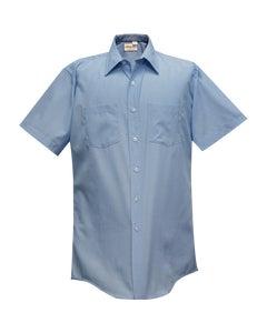 MENS TRANSIT LIGHT BLUE 65P/35C SHIRT