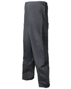 BLACK/YELLOW REV. RAINPANT W/LEG ZIPPERS BLACK