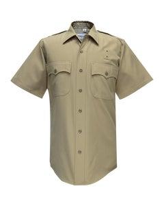 CHP 65% POLYESTER/35% RAYON SHORT SLEEVE SHIRT