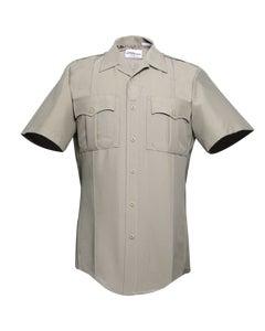 Men's Short Sleeve Shirt W/Zipper