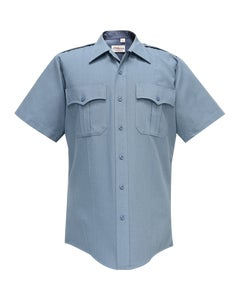 DELUXE TROPICAL 65% POLY/35% RAYON MEN'S SHORT SLEEVE SHIRT