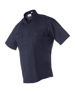 FX STAT Women's Class A short sleeve navy police shirt with stretch designed by Flying Cross uniforms