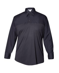 FX STAT men's long sleeve polo designed by Flying Cross uniforms